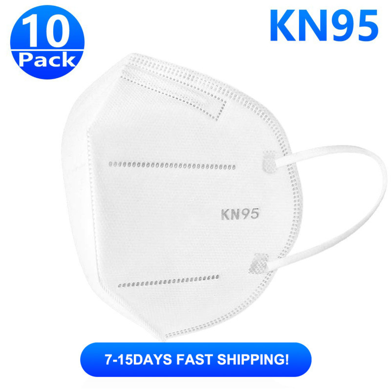 10 Pieces Kn95 Mask Anti-Virus Mask Anti-pollution Dust Mouth Mask Respirator Masks Face Sanitary Safety Mask Fast Shipping Mask