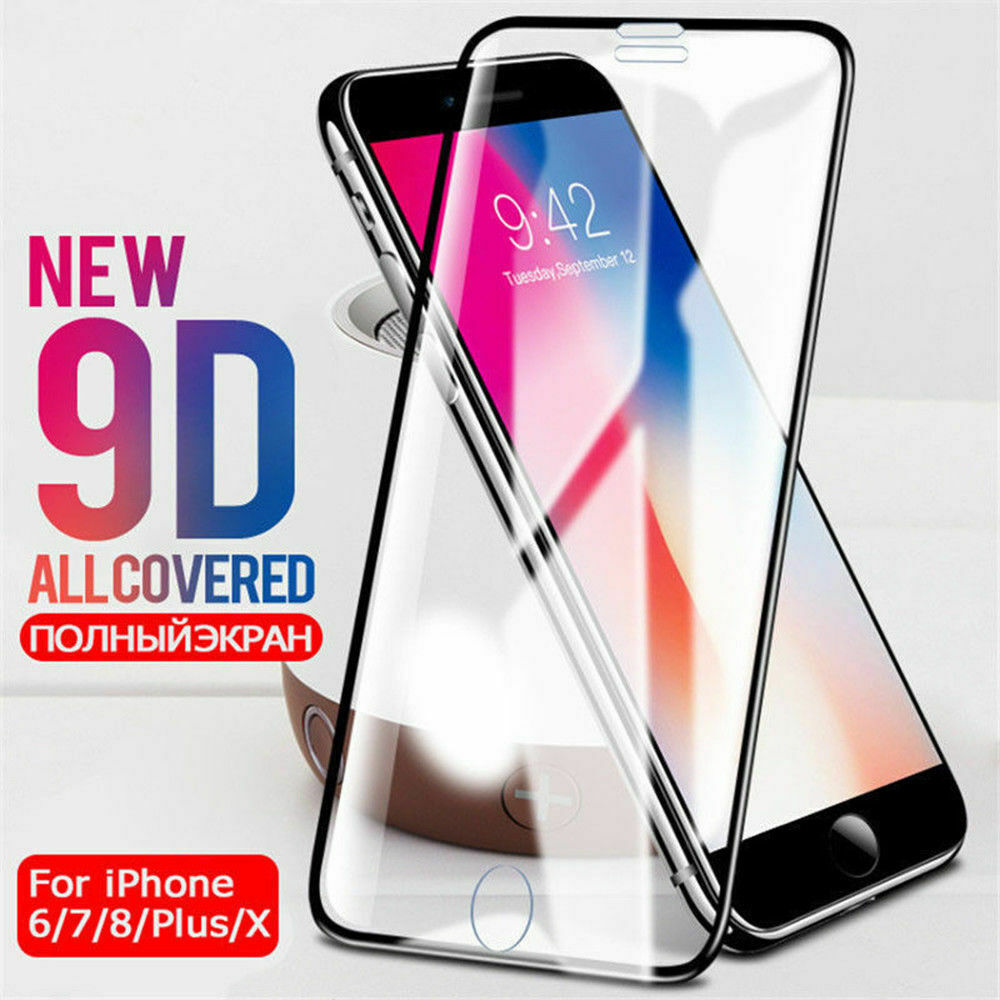 9D Tempered Protective Glass For iPhone 11 Pro 11Pro Max 6 7 8 6S Plus Film Screen Protector For iPhone XS Max XR X Glass Film image