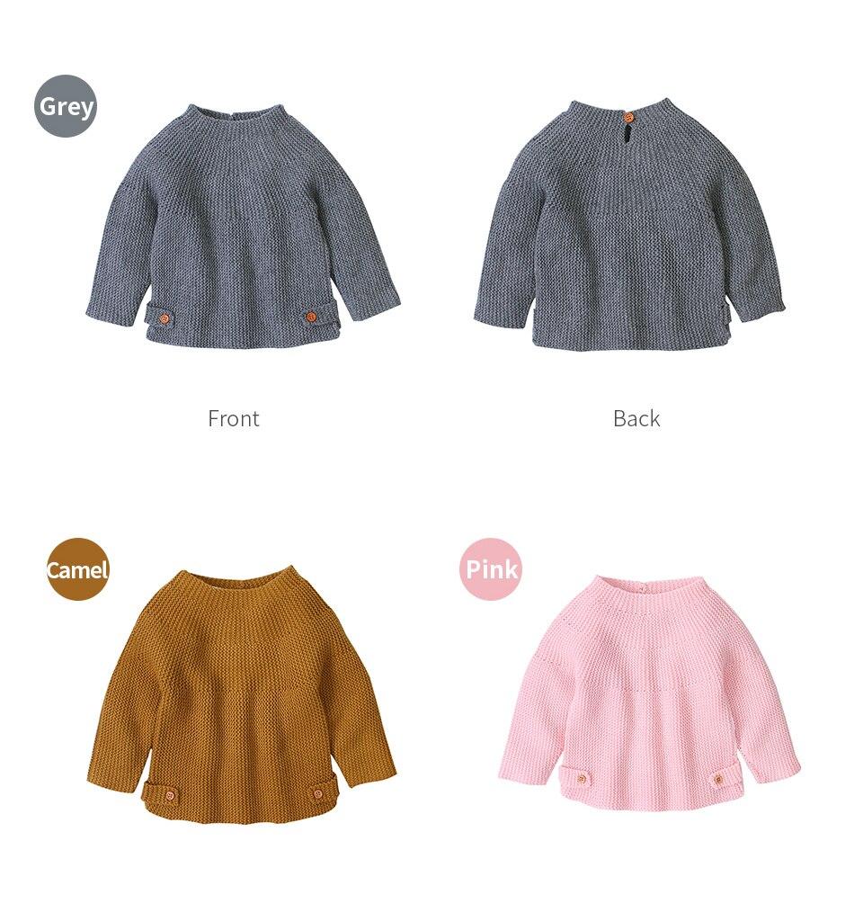 Suéter infantil de malha, pulôveres de malha