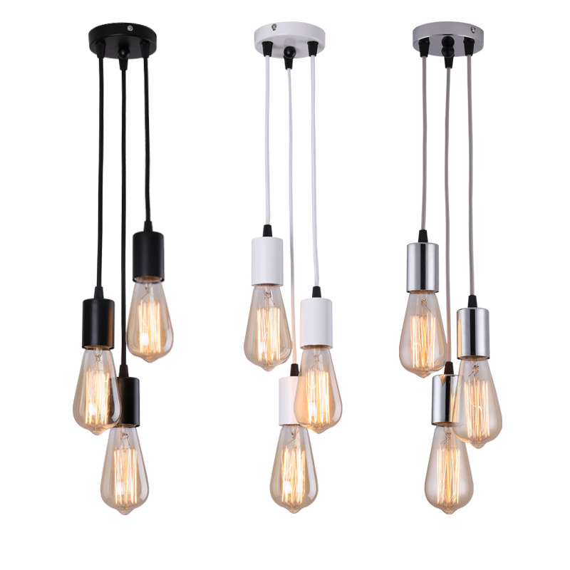 Modern Hanging Ceiling Lamps Spider Nordic Lamp Chandeliers Suspension Pendant Kitchen Bedroom Dining Room Restaurant Lights E27