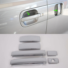 цена на Car Accessories Exterior Door Handle Cover Trim For Hyundai H-1/Grand Starex 2019 Car-styling
