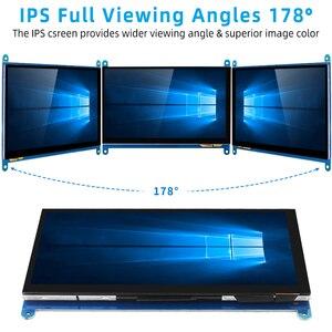 Image 3 - 7 inch Raspberry Pi 4 Model B 3B LCD Display Touch Screen 1024*600 800*480 HDMI TFT Optional Holder for Nvidia Jetson Nano PC