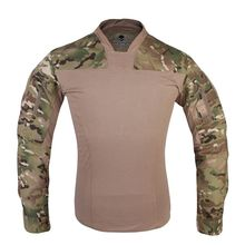 Emersongear Mens Tactical T-shirts Official Lightweight Combat Tees Multicam Army Sports Jersey Long Sleeved Tops Shirts
