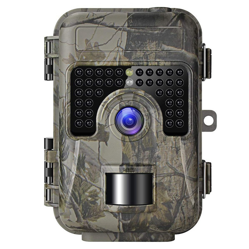 Game Trail Camera with Night Vision Motion Activated 1080P 16MP Cam Hunting Trap Cameras with No Glow IR and Upgraded Waterproof|Night Visions| |  - title=