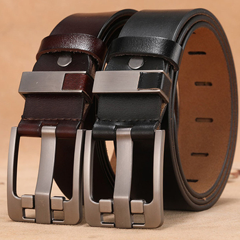 Mens High-Quality Genuine-Leather Belts