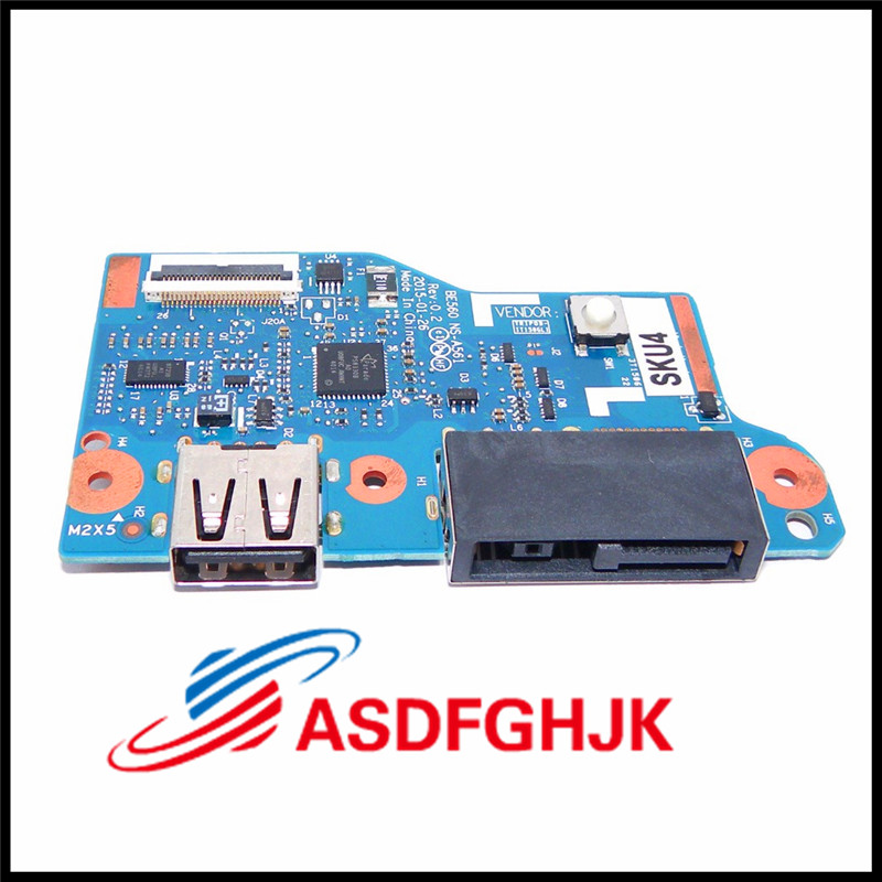 DC Jack Power Charging USB Board For Lenovo FOR ThinkPad E560 E565 00UP284 NS A561