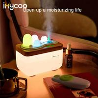 420ml óleo essencial difusor de ar ultra-sônico umidifie com luz da noite led aromaterapia óleo essencial aroma difusor névoa maker
