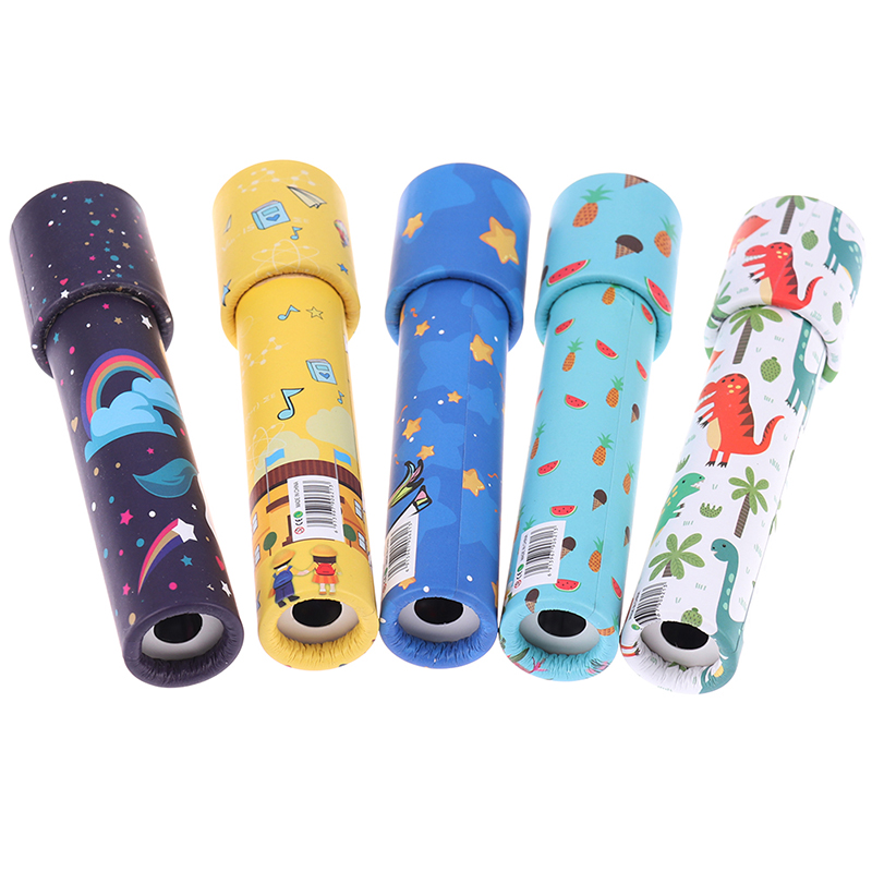 Interactive Logical Rotating Kaleidoscope Magic Classic Educational Toys For Kids Imaginative Cartoon Children