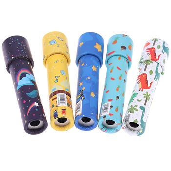 Interaktywne logiczne obrotowe kalejdoskop magiczne klasyczne zabawki edukacyjne dla dzieci pomysłowe kreskówki dla dzieci tanie i dobre opinie KittenBaby Z tworzywa sztucznego CN (pochodzenie) Unisex