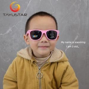 Image 3 - MEESHOW2020 fashion high quality cute UV400 baby kid glasses  UV protection boy and girl sunglasses