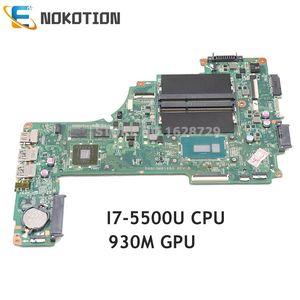 NOKOTION A000390140 DA0BLQMB6E0 For TOSHIBA Satellite L50 L50-C P50-C L55T-B laptop motherboard Geforce 930M SR23W I7-5500U