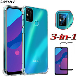 На Алиэкспресс купить чехол для смартфона 6.3'' transparent case honor 9a 9c 9s case silicone airbag protective cover huawei y5p y6p y7p soft tpu clear cases+screen protector glass+camera,original phone shockproof case for honor9a honor9c honor9s