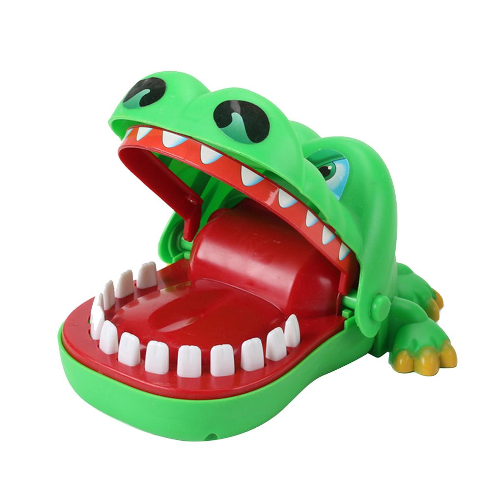 Mini Crocodile Joke Toy Mouth Dentist Bite Finger Game Fun Funny Noverty Crocodile Toys Antistress Gift For Kids Child Prank image