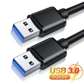ONLENY USB na przedłużacz USB typ A z męskiego na męskie przedłużacz USB 3 0 do radiatora dysk twardy Webcom USB3 0 przedłużacz tanie i dobre opinie EDUP Standardowy NONE Inteligentne urządzenia CN (pochodzenie) black 5Gbp s devices with USB interface standard full copper 9 cores + aluminum foil + 96 braid shielding net
