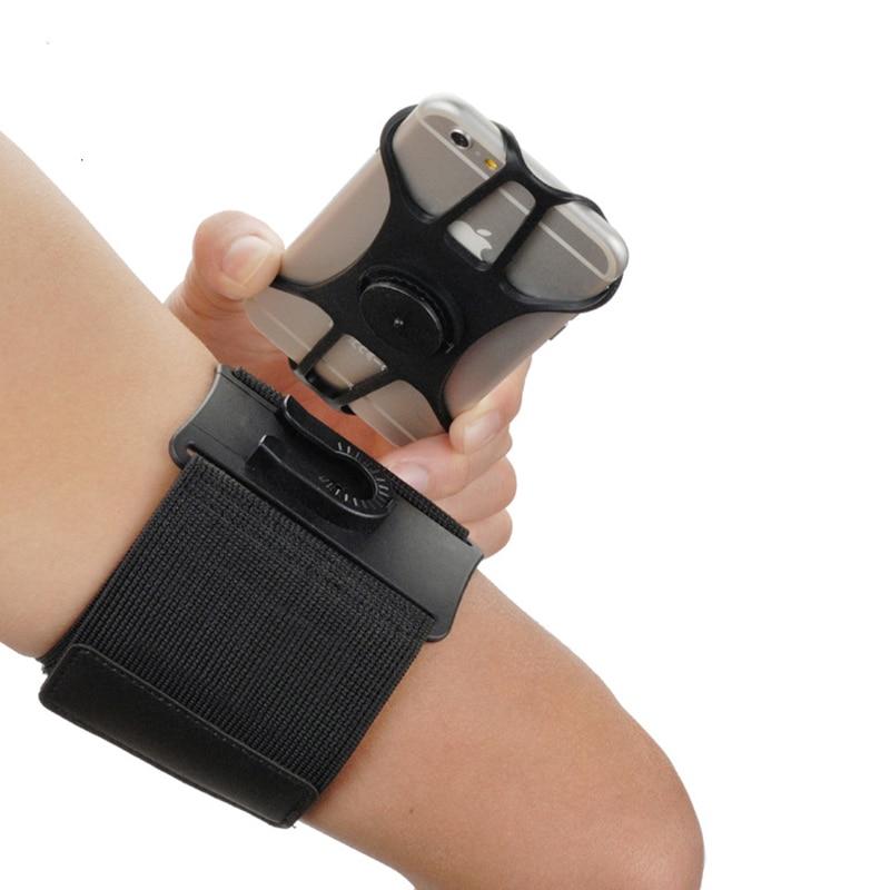 Universal Sport Armband Telefon Ständer Halter Für Handy Fällen Auf Hand Abdeckung Lauf Armband Basis Für iPhone Samsung Huawei