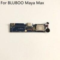 중고 usb 플러그 충전 보드 + 진동 모터 용 bluboo maya max mtk6750 octa core 6.0