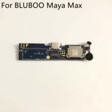 "Placa de carga usb + motor de vibração, plugue de carga usb + motor de vibração para bluboo maya max mtk6750 octa core 6.0 ""hd 1280x720 frete grátis"
