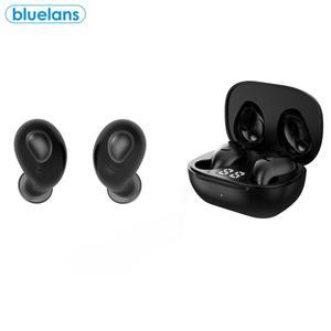 Беспроводные наушники S17, универсальные водонепроницаемые наушники TWS, Bluetooth 5,0, со светодиодным индикасветодиодный уровня шума, могут испол...