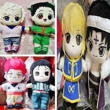 HUNTER X HUNTER – poupée en peluche Killua Irumi Hisoka Kulolo, avec vêtements, 20cm, mignon, Fan de cosplay, cadeau