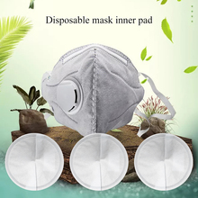 40pcs Disposable Facial Mask Filter Pads Haze Mask Universal Protective Replaceable Mask Inner Pads 12x3cm non-woven 500pcs bag univeral mask respirator filter pads disposable antivirus smog prevention changeable pads for mask pads