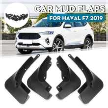 Car Mudguards Front Rear Splash Guards Mud Flaps Fender Mudflaps Accessories For Haval F7 2019(China)