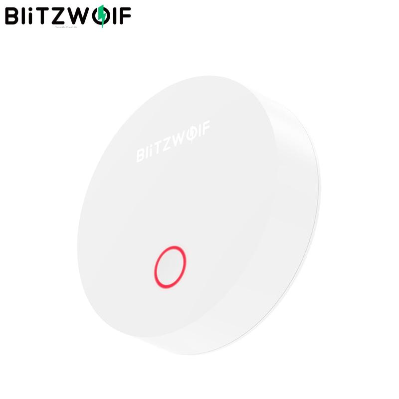 BlitzWolf BW IS1 ZigBee 3.0 Gateway Inteligente Multifuncional APP APP Controle de Trabalho Remoto Host com Kit de Segurança em Casa Itens Eletrônicos Inteligentes, smartwatch, pulseiras inteligentes de fitness