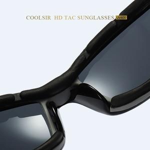 Image 4 - VIAHDA lunettes de soleil polarisées pour hommes, nouvelle marque, Sport, miroir, de luxe, Vintage, pour conducteur