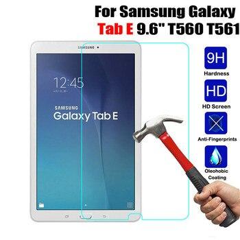 Protetor de tela de vidro temperado premium para samsung galaxy tab e 9.6 polegada SM-T560 SM-T561 tablet segurança película de vidro protetora