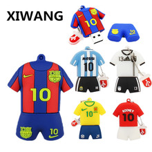 XIWANG fine jersey soccer series memory stick flash drive USB high speed usb2.0 4GB 8GB 16GB 32GB 64GB U disk Pen Pendrive