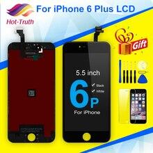 """เกรดAAA OEMสำหรับApple iPhone 6 PLUS 5.5 """"A1522 A1524 A1593สีดำสีขาวจอแสดงผลLCD 3D Touchหน้าจอDigitizer Assembly"""