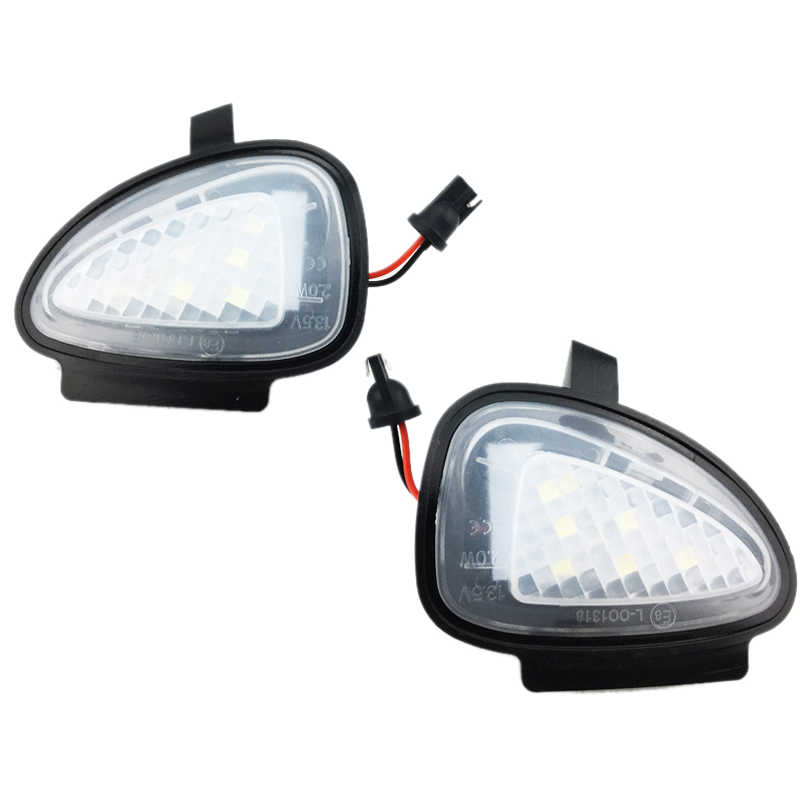 Luz Led de espejo lateral bajo retrovisor lámpara de tierra para Vw Golf 6 Gti Touran