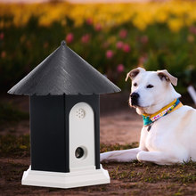 Pet Dog Stop Barking Ultrasonic Anti Barking Stop Bark Device Outdoor Waterproof Dogs Training Repeller Control Tool(China)