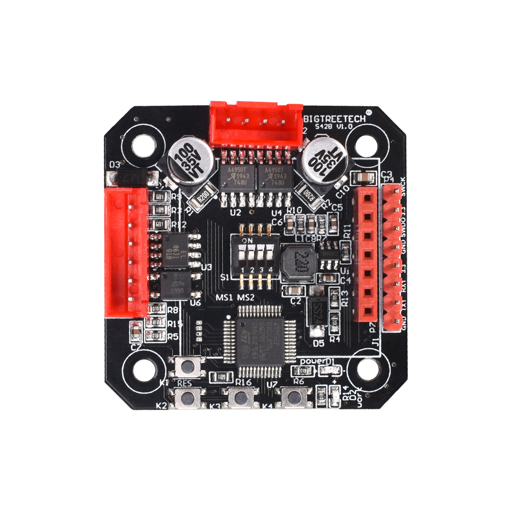 lowest price BIGTREETECH S42B V1 1 Closed Loop Driver Control Board OLED SERVO42 42 Stepper Motor 3D Printer Parts SKR V1 3 V1 4 Turbo ender3