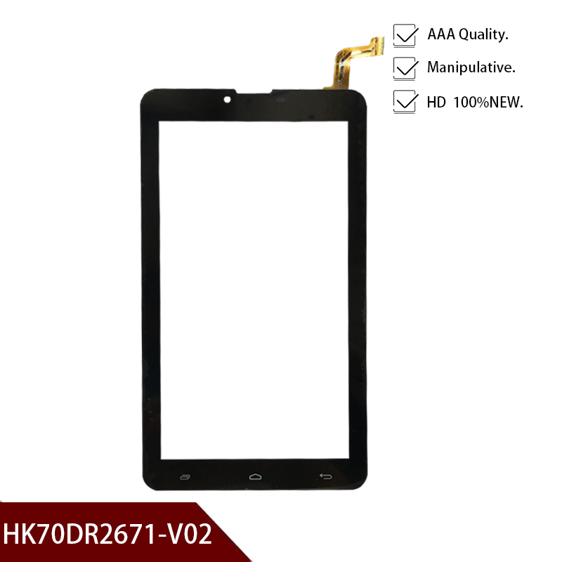 100% Tested New Original 7''inch For HK70DR2671-V02 Touch Screen Digitizer Panel Sensor Outer Glass Tablet PC Free Shipping