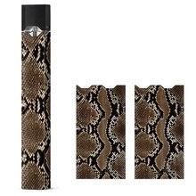 JUUL электронная сигарета хост наклейка ультратонкий змея узор трехмерный винил упаковка подходит для JUUL скины наклейка крышка