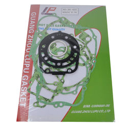 Motorcycle Engine gaskets include Crankcase Covers Cylinder Gaskets kit set For Kawasaki KDX250 KDX 250 1991-1994