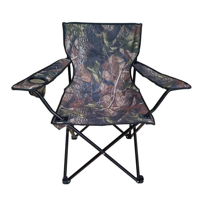 Yang Guang Casual Outdoor Beach Chair Armchair Oxford Cloth Steel Tube Fishing Chair Foldable Logo Customizable Export