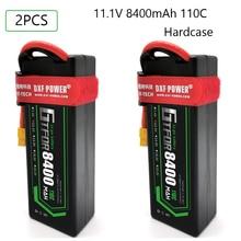 GTFDR 8400mAh 11.1V 110C 3S RC Lipo Battery Deans/T XT60 XT90  EC5 trxx XT150 Plug for 1/8 1/10 RC Car Model Emaxx Slash Buggy wild scorpion 7 4v 1800mah 2cell 30c xt60 plug for rc model