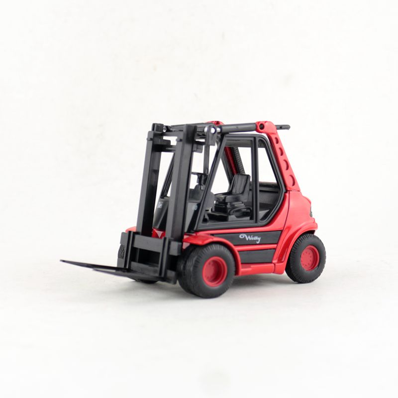 Welly/Diecast Metal Model/Urban Construction Engineering Truck Toy/Forklift Car/Collection/Educational/Gift For Children