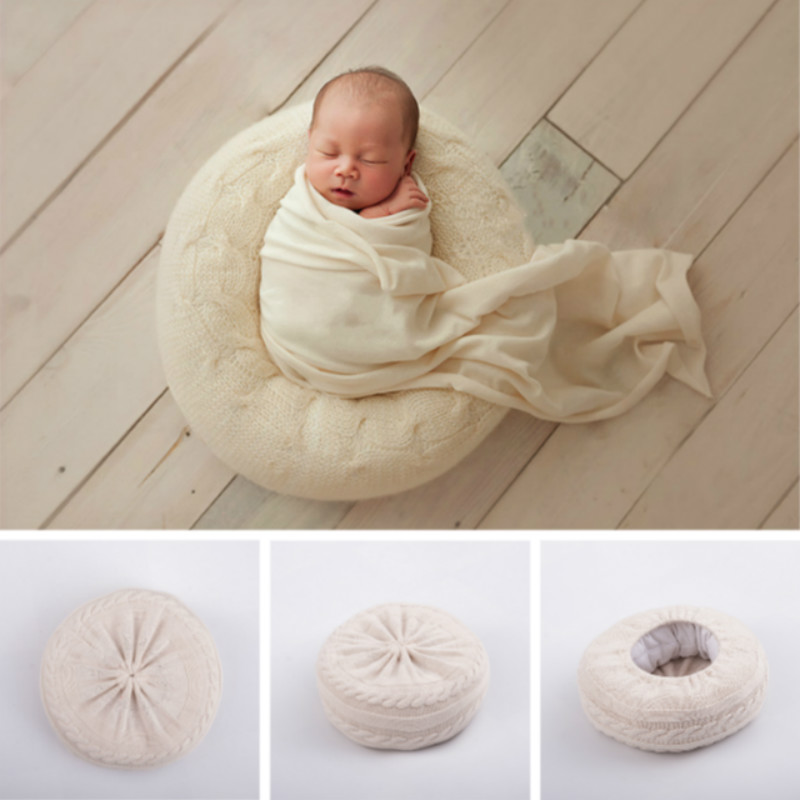 Newborn Photography Props Baby Bean Bag Posing Sofa Infant Shoot Accessories Studio Posing Props Baby Photo Auxiliary Props