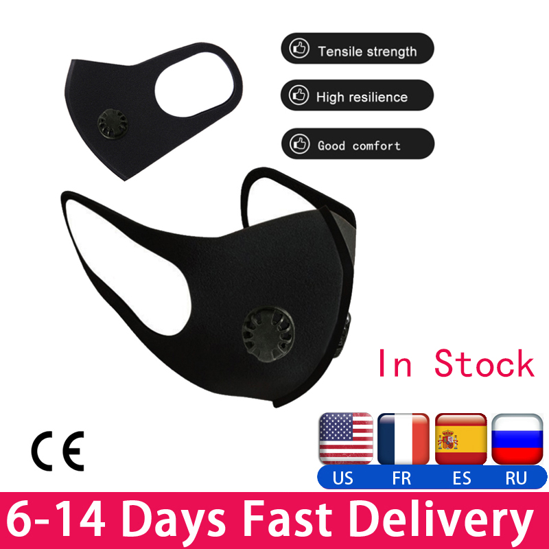 In Stock ! Pollution Mask Anti Air Dust & Smoke Pollution Mask PM2.5 Anti-fog Respirator Face Mask Security Protection Dust Mask