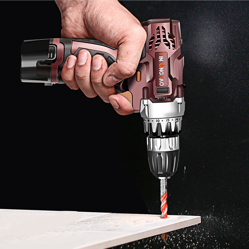 Image 5 - 12V Lithium drill Electric Screwdriver Cordless Drill  Lithium Ion Battery Wireless Power Driver DIY Torque drill Power Tools-in Power Tool Accessories from Tools on