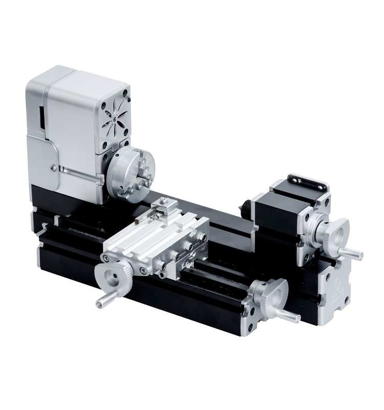 ZRCC01036 All-metal Miniature Lathe / 36W,20000rpm didactical mini metal lathe machine for hobbyist woodworking craft