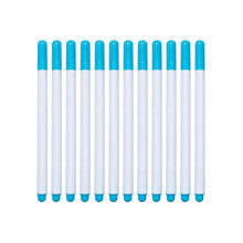 12pcs Sewing Tools Water Erasable Pen Cross Stitch Tailor Pencil Fabric Marker Grommet Ink Measuring Needlework DIY Soluble(China)