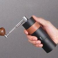 Mini kahve çekirdeği manuel değirmeni taşınabilir paslanmaz çelik kahve değirmeni sert seramik Burr çelik çekirdekli ev ofis aracı sıcak satış|Manuel Kahve Öğütücüler|Ev ve Bahçe -
