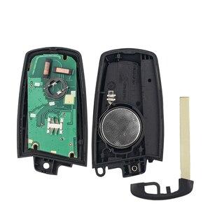 Image 5 - KEYYOU 3/4 düğmeler uzaktan anahtar Fob BMW 5 7 için F serisi FEM / BDC,CAS4,CAS4 + 2012 2017 YGOHUF5662/YGOHUF5767 315/433/868Mhz yeni
