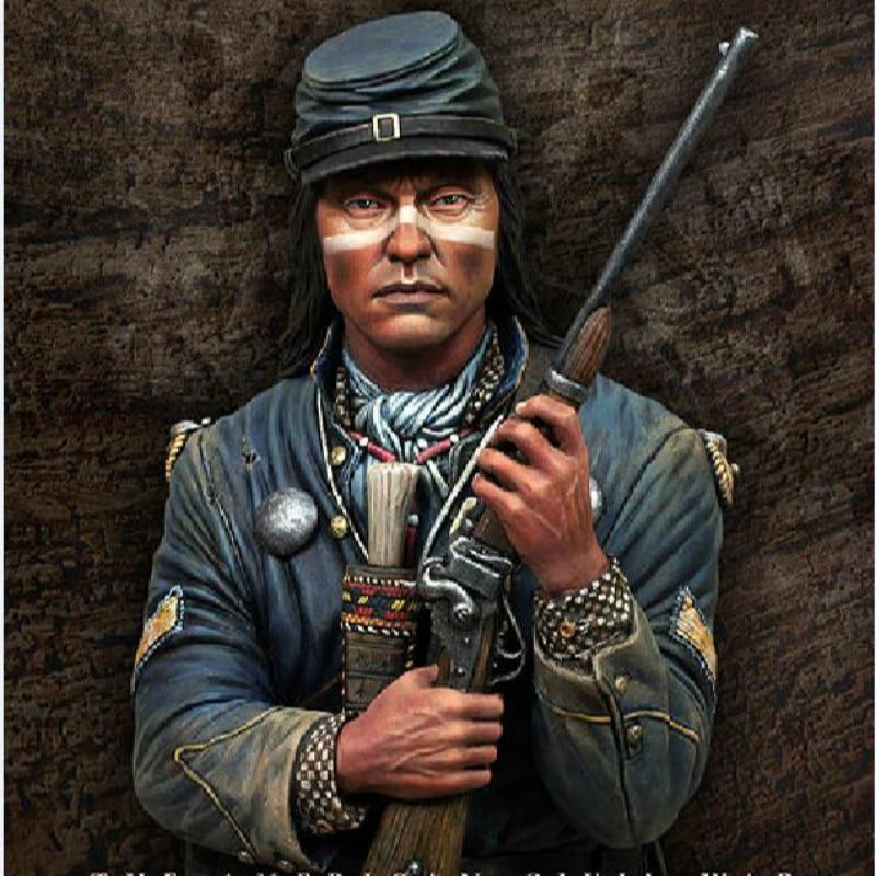 1/10 Resin Bust Model  Kit American Civil War  Unpainted  XX280D
