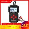 KONNWEI KW210 probador de batería de coche inteligente Analizador Automático de batería de coche, 12V, 100 a 2000CCA, probador de batería de coche