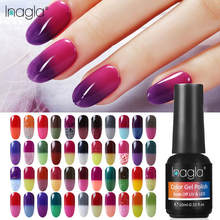 Inagla 10ML เปลี่ยนสี Gel 100 สีเล็บ HYBRID Varnish Soak Off UV GEL Lacquer เล็บ Thermo(China)