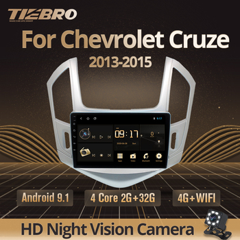 TIEBRO Car Radio For Chevrolet Cruze J300 J308 2012-2015 2Din Android 9.0 Car Multimedia Player Navigation No 2din Dvd Player image